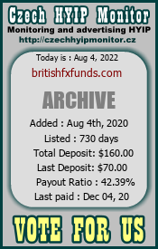 britishfxfunds.com monitoring by czechhyipmonitor.cz